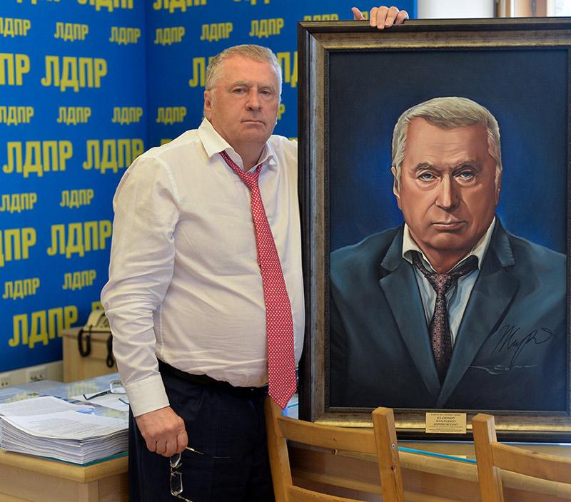 Г.Сидоров - Портрет В.В. Жириновского